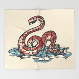 SINK OR SWIM  Throw Blanket