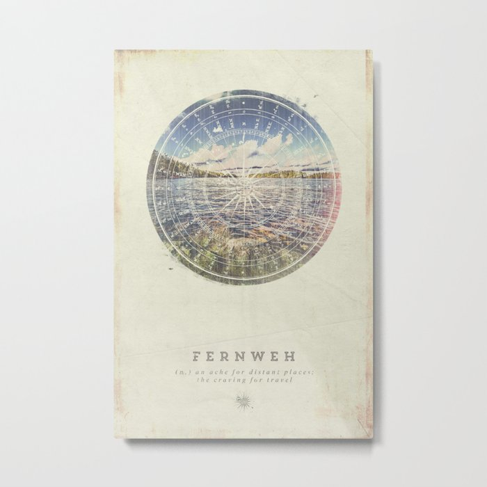 Fernweh Vol 1 Metal Print