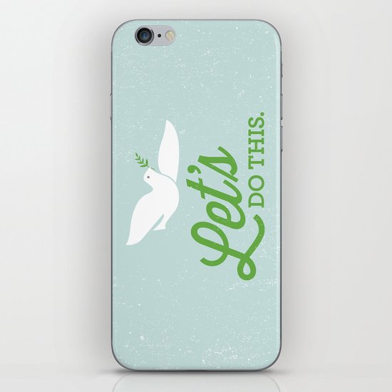 Let's Do This. iPhone & iPod Skin