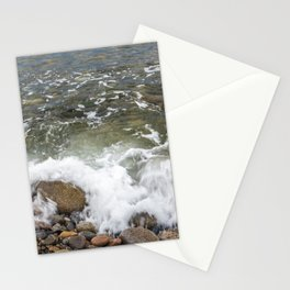 Small wave at Pebble beach Stationery Cards
