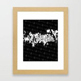 VNDL WPN5 Framed Art Print