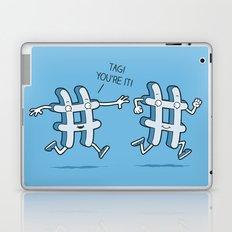 Hash Tag Laptop & iPad Skin