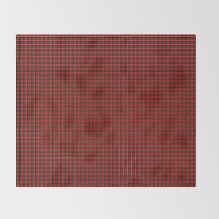 Chisholm Tartan Throw Blanket