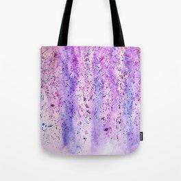 abstract purple wisteria watercolor Tote Bag
