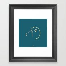 l- lion Framed Art Print