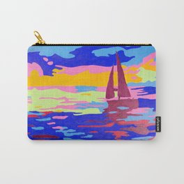 Evening Sail Carry-All Pouch