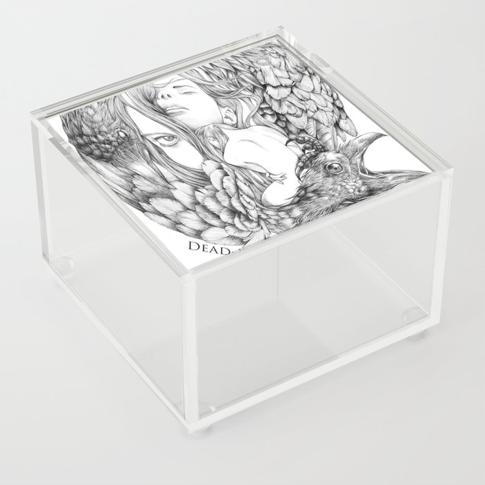 To Dream is to Die - Line Acrylic Box