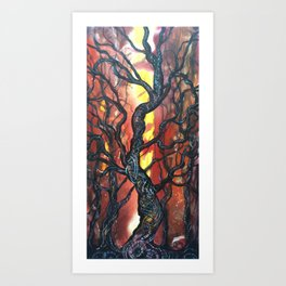 Summoning Tree Art Print