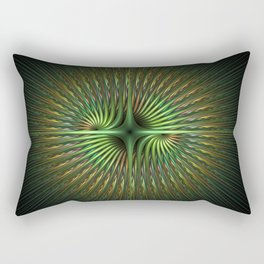 The Simple Beauty of Fractals Rectangular Pillow