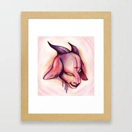 Baphomet Baby Framed Art Print