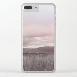 Storm over Montana Clear iPhone Case