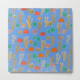 Pattern Project #3 / Forest Life Metal Print