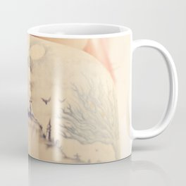 Haunted House Tattoo Coffee Mug