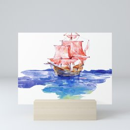 Fishing Boat Mini Art Print