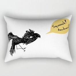 Awkward bird Rectangular Pillow