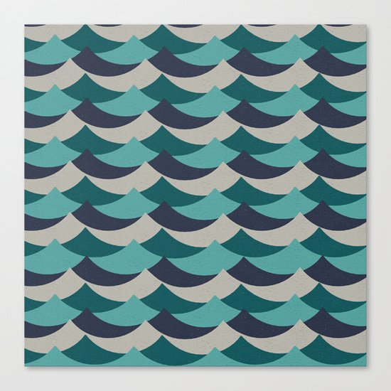 Waves Of Fun Canvas Print