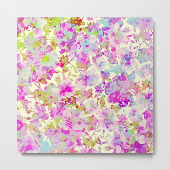 pretty flowers Metal Print