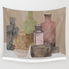 Deconstructed Coffee Wall Tapestry