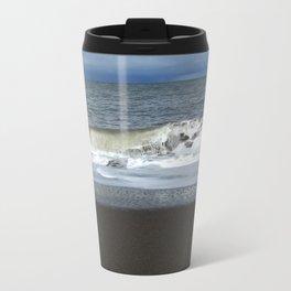 Rolling waves Metal Travel Mug