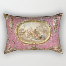 "François Boucher ""Venus aux forges de Vulcain"" Rectangular Pillow"