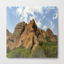 Red Rocks In Roxborough State Park Metal Print