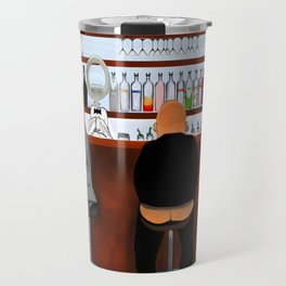 Corky the Bartender Travel Mug