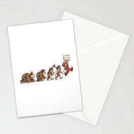 8-Bit Evolution Mario Stationery Cards