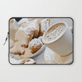 New Orleans Beignets and Café au Lait Laptop Sleeve