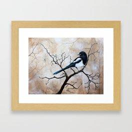 Promise - Magpie Framed Art Print