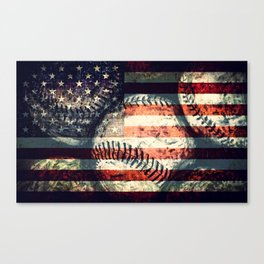 America's game Canvas Print