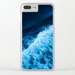 Sea 11 Clear iPhone Case