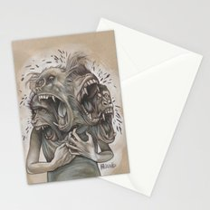 One Screaming Monkey at a Time Stationery Cards