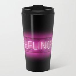 Feelings (Neon) Travel Mug