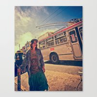 dazed and confused Canvas Prints featuring Dazed and Confused by Evolvedphotoco