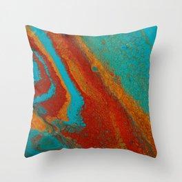 Blue2 Throw Pillow