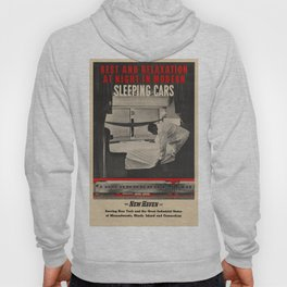 Vintage poster - New Haven Railroad Hoody