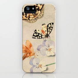 """Jan van Kessel de Oude """"Study of insects and flowers"""" iPhone Case"""