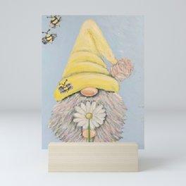 Bee-Gnomie Mini Art Print