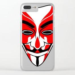 Kabuki Vendetta Clear iPhone Case