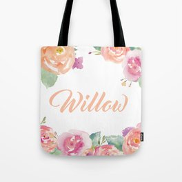 Willow Florals  Tote Bag