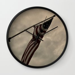 Old Glory Wall Clock