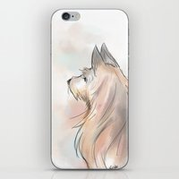 terrier iPhone & iPod Skins featuring Terrier by Eviko