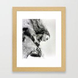 As We Begin Framed Art Print