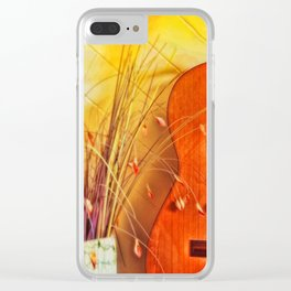 Unplayed Melody Clear iPhone Case