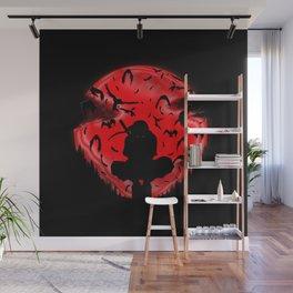 Ninja Silhouette Wall Mural