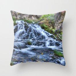 Tumbling Waters Throw Pillow