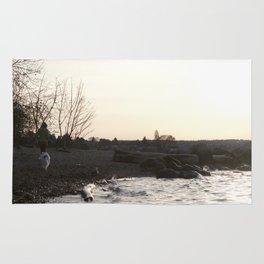 Kits Beach Sunset 1 Rug