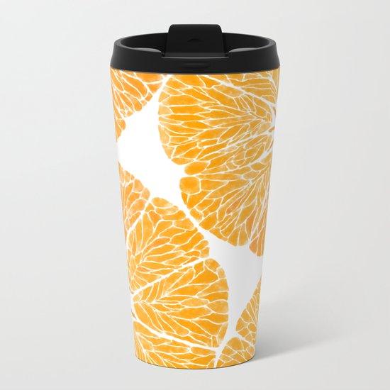 Orange you glad . . . Metal Travel Mug