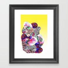Hidden Faces Framed Art Print