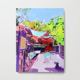 Enoshima Island Metal Print